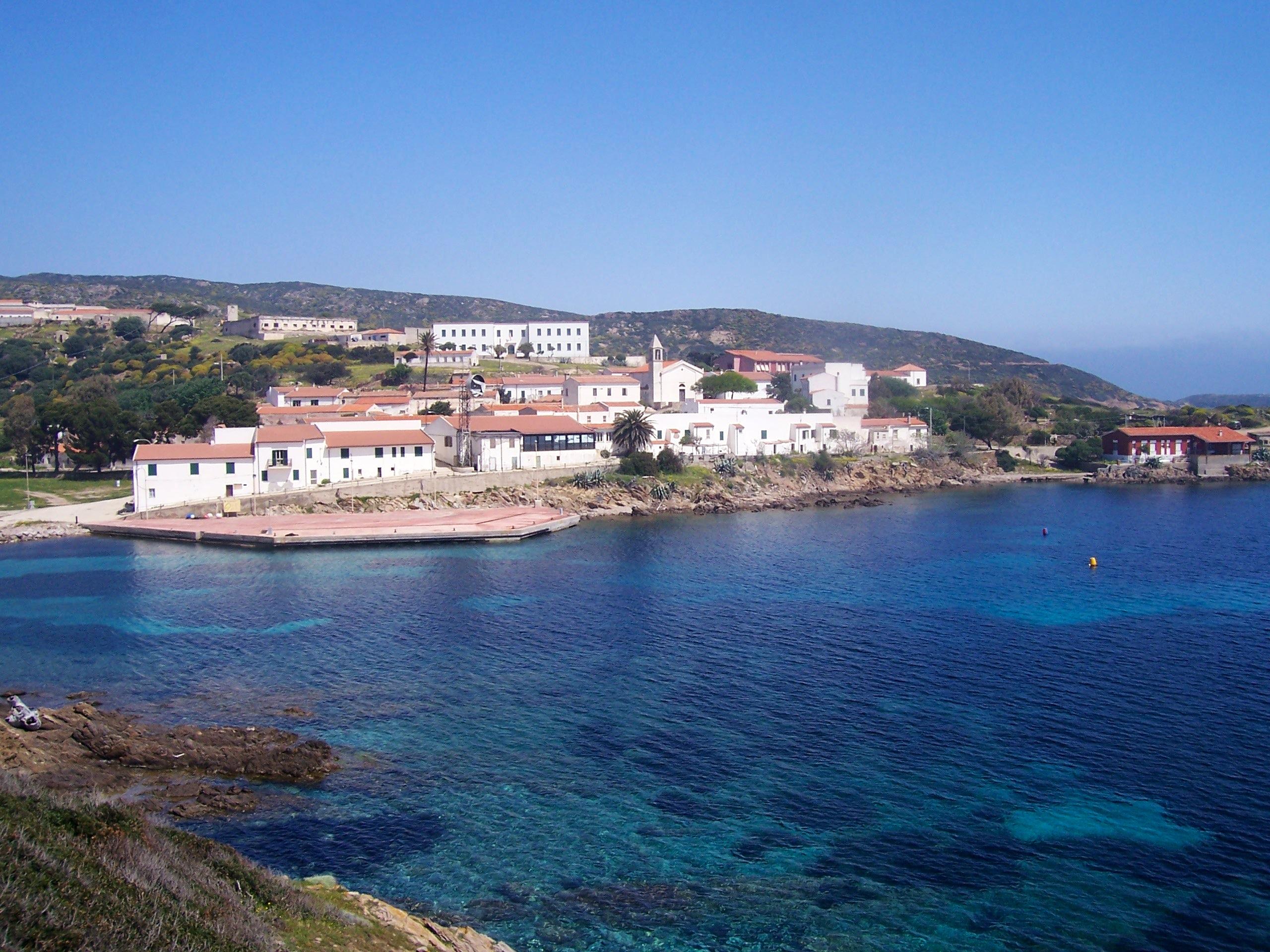 Cala d'Oliva in Asinara