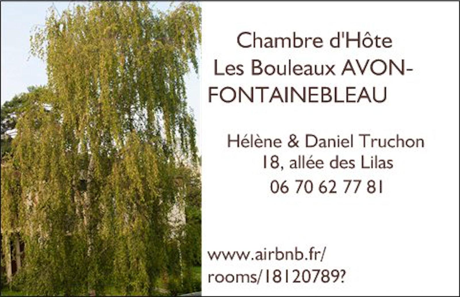 Chambre d 39 h te les bouleaux avon fontainebleau itinari - Chambre d hote a fontainebleau ...