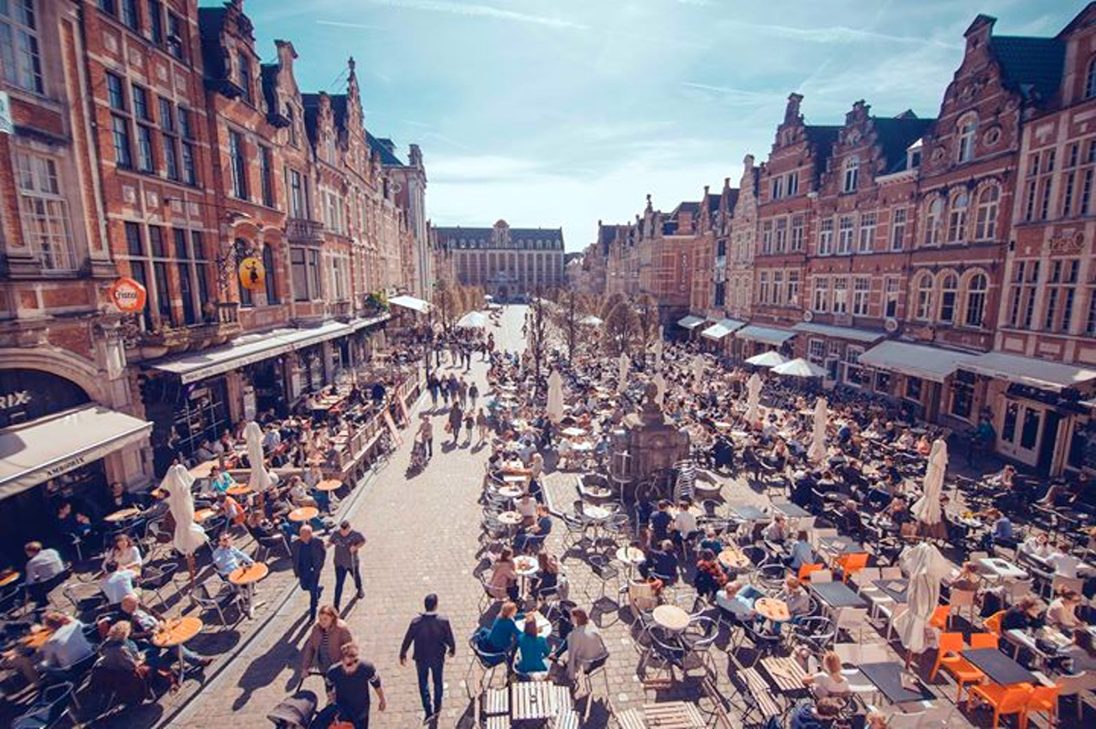 Image result for oude markt leuven