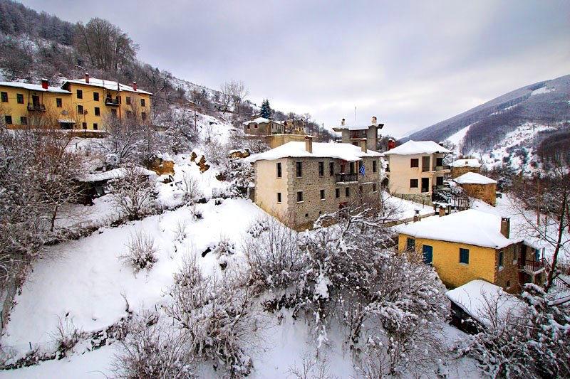Pisoderi village & Ski resort