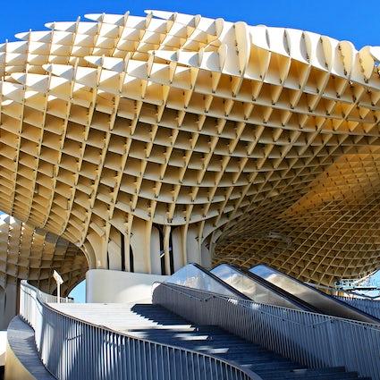 Metropol Parasol, largest wooden structure worldwide