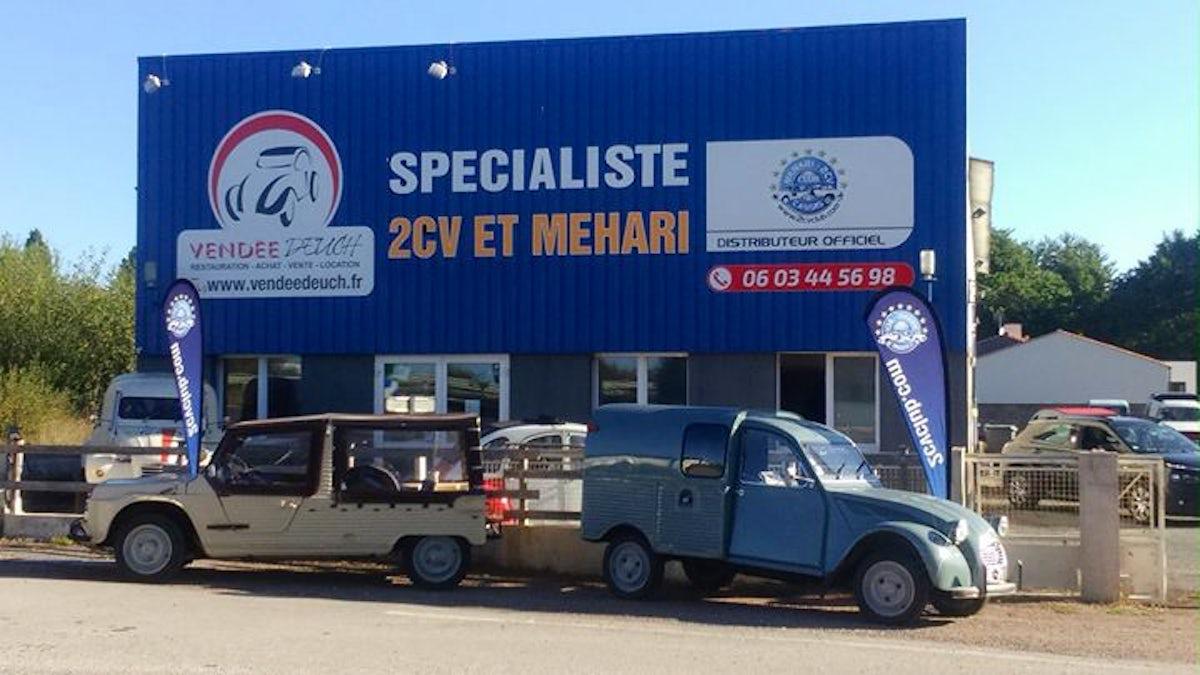 Visit Vendée Deuch Restauration Citroen 2cv Méhari