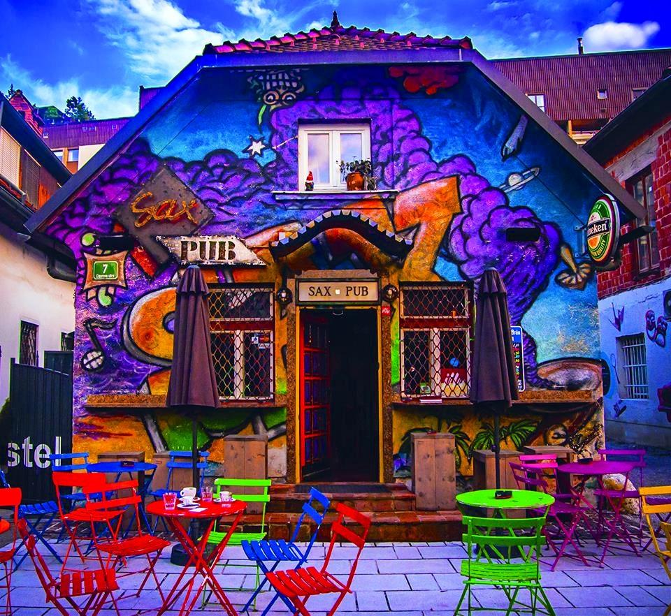 Sax Pub, Ljubljana