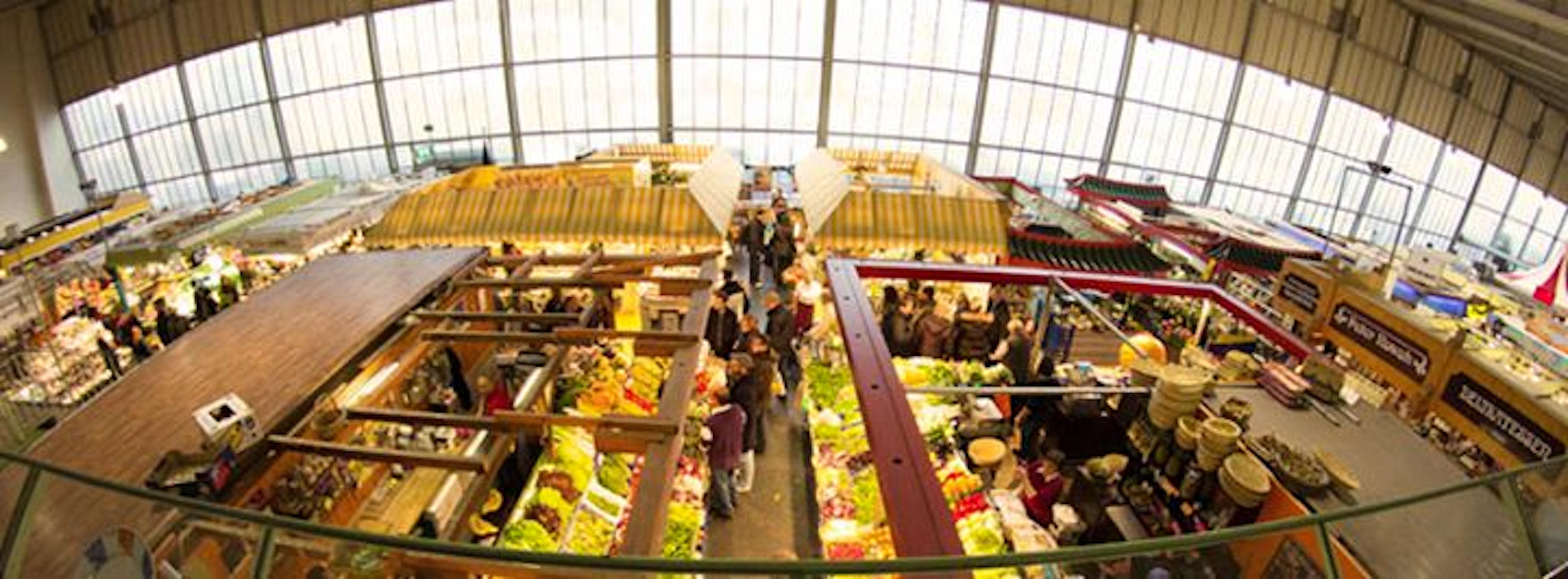 Kleinmarkthalle frankfurt itinari for Liebfrauenberg frankfurt