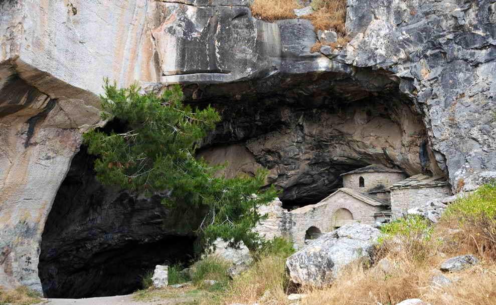 The Davelis Cave on Penteli Mountain