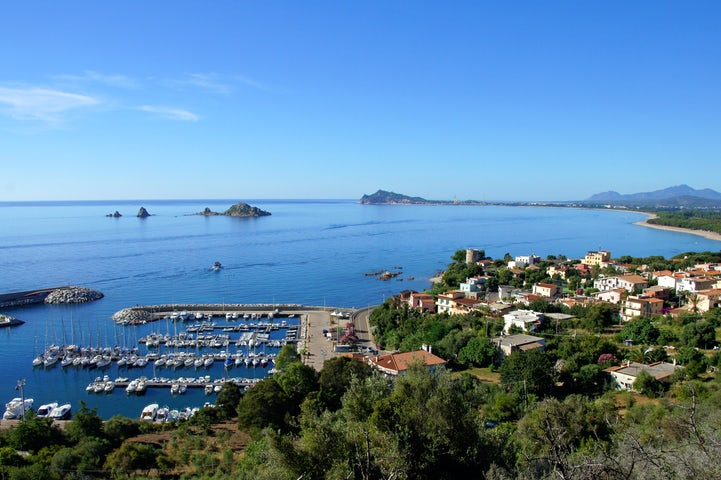 Santa Maria Navarrese, small resort port