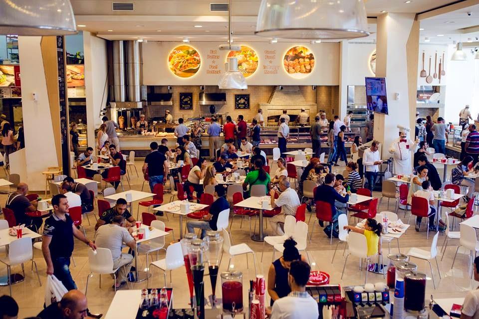 SAS Food Court