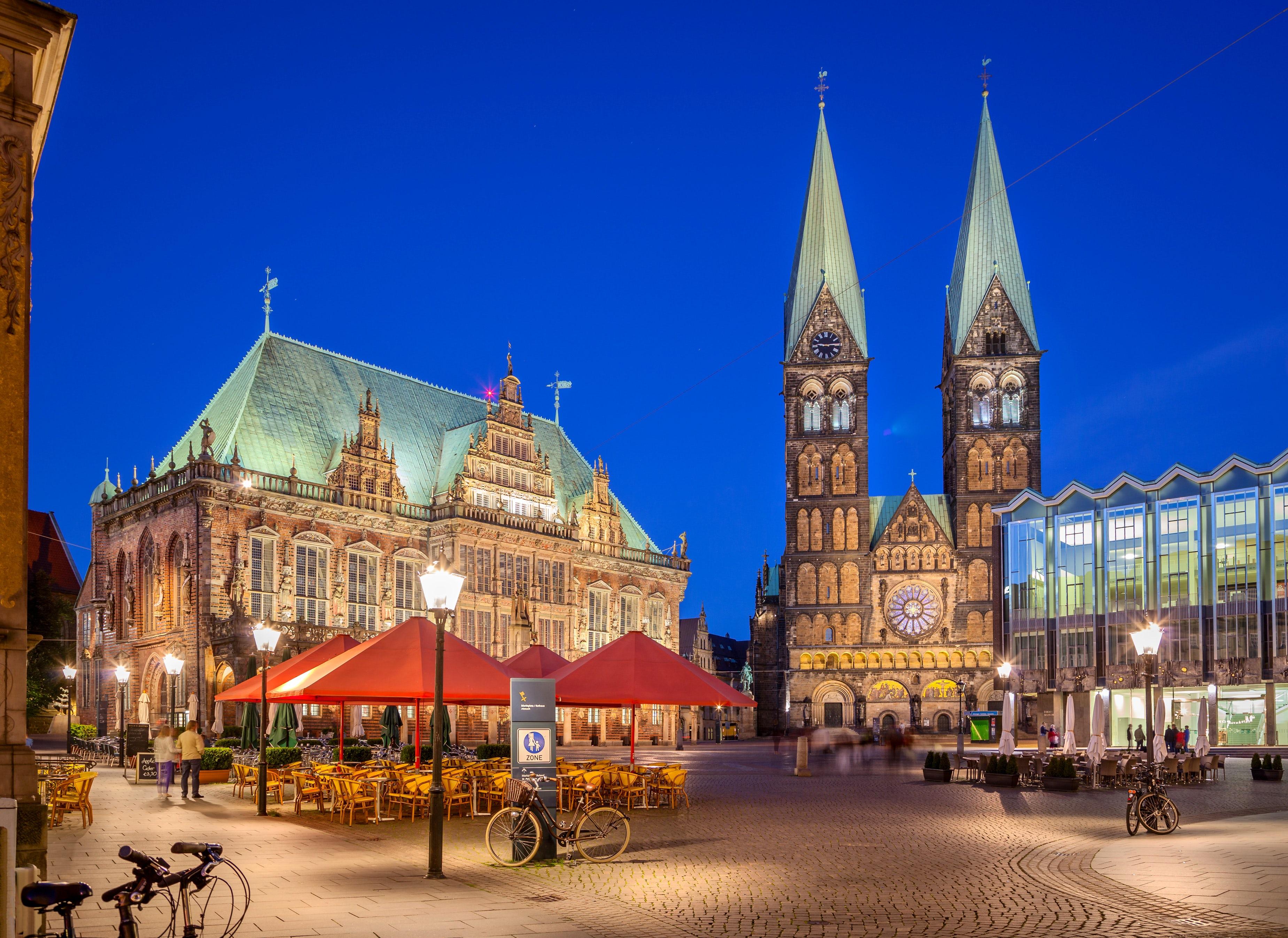 Bremen Rathaus and Dom St.Petri