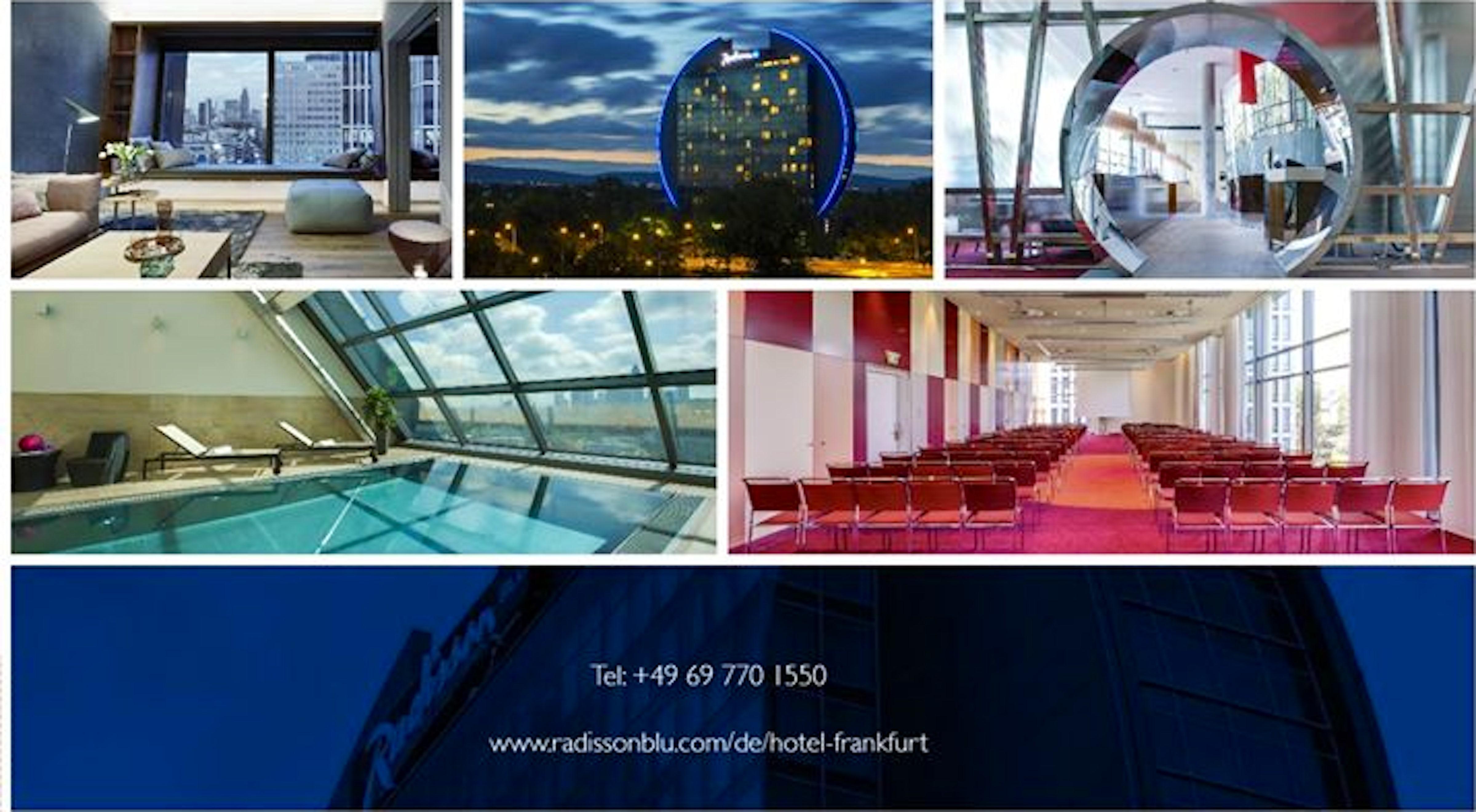 radisson blu hotel frankfurt itinari. Black Bedroom Furniture Sets. Home Design Ideas