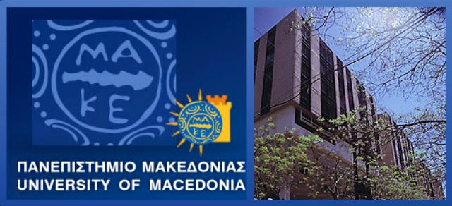 The University of Macedonia in Thessaloniki