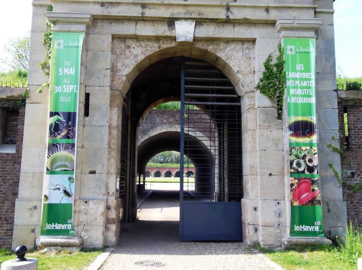 Le looping itinari for Jardin suspendu