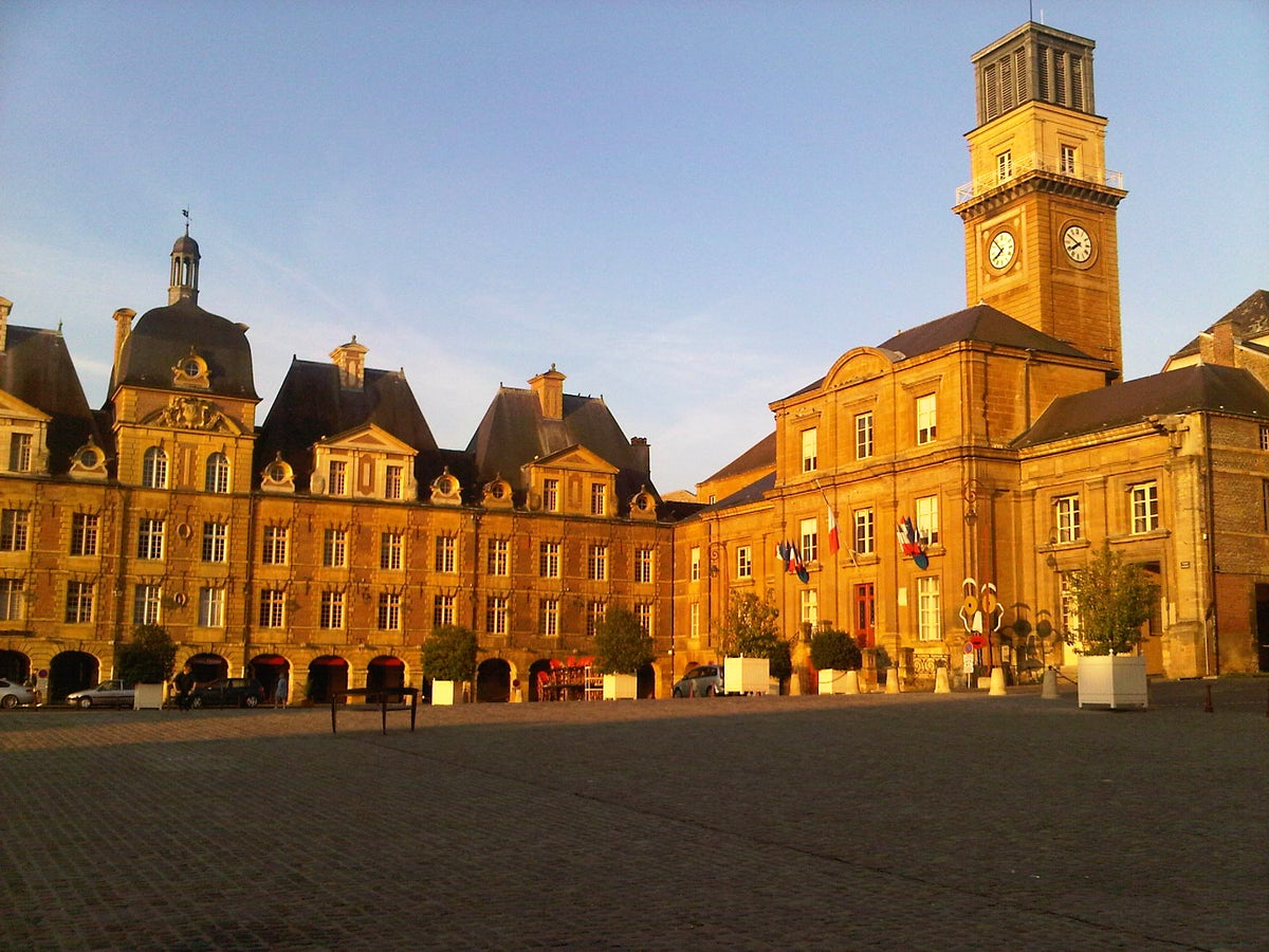 Place Ducale in Charleville