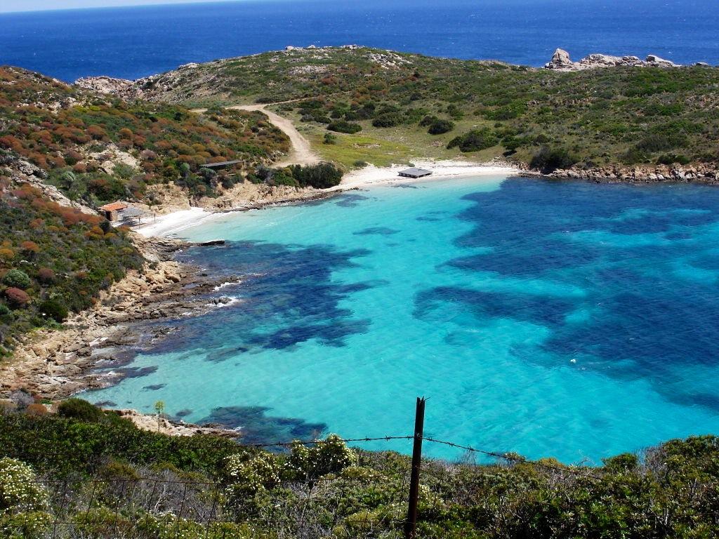 Cala Sabina, in Asinara