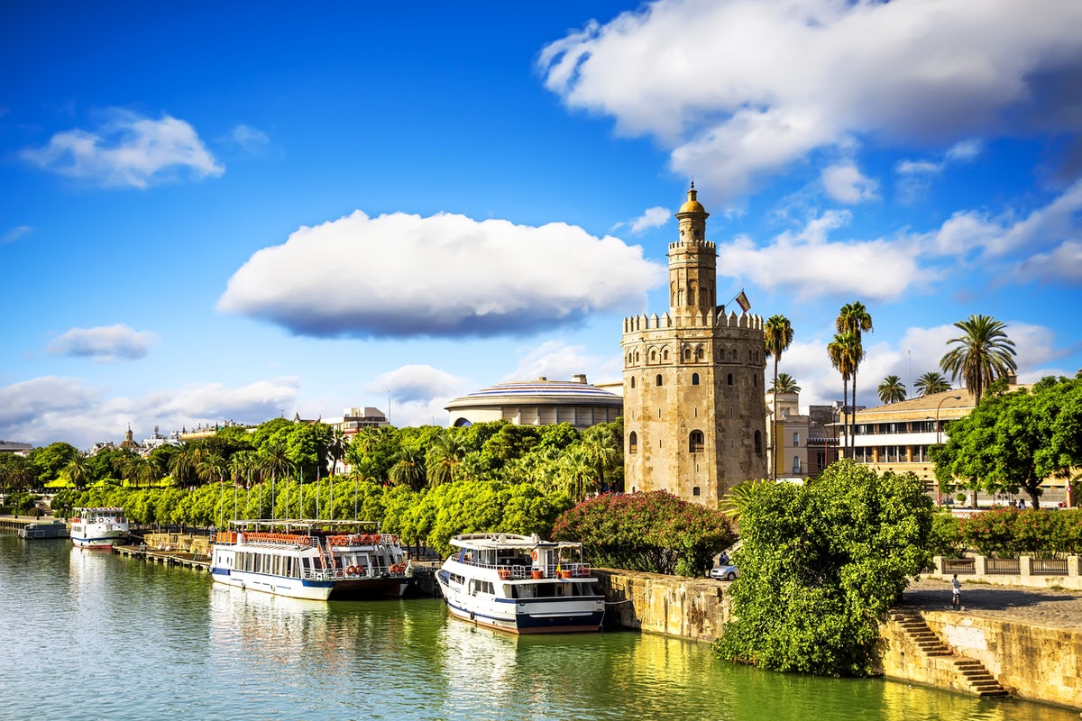 Tower of Gold in Seville