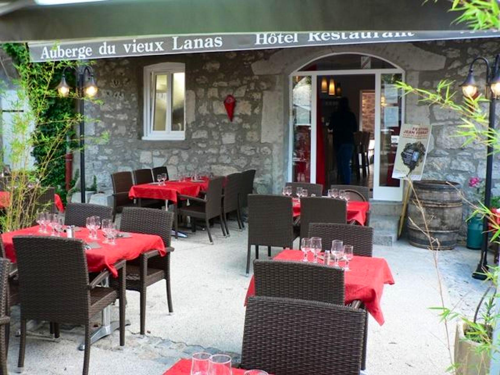 Auberge du Vieux Lanas | itinari