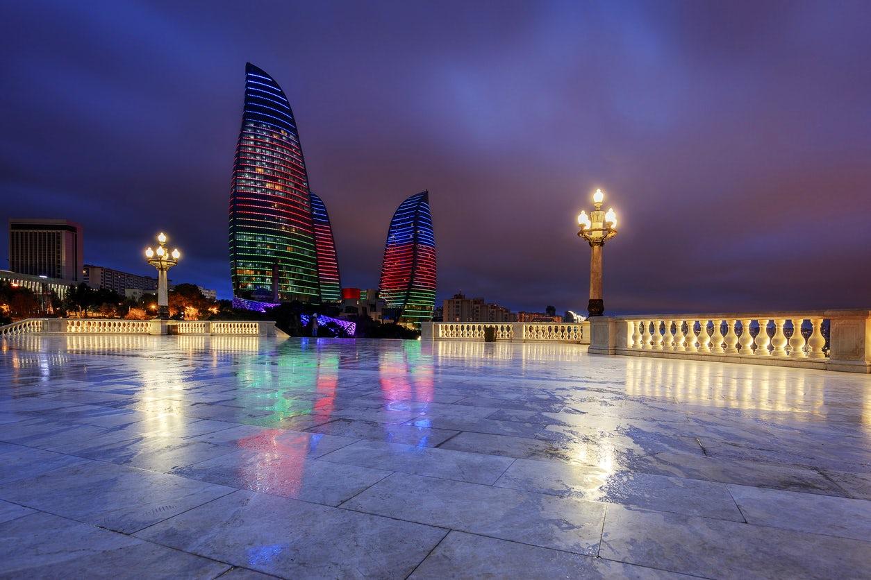 Dağüstü park/Highland park, Baku