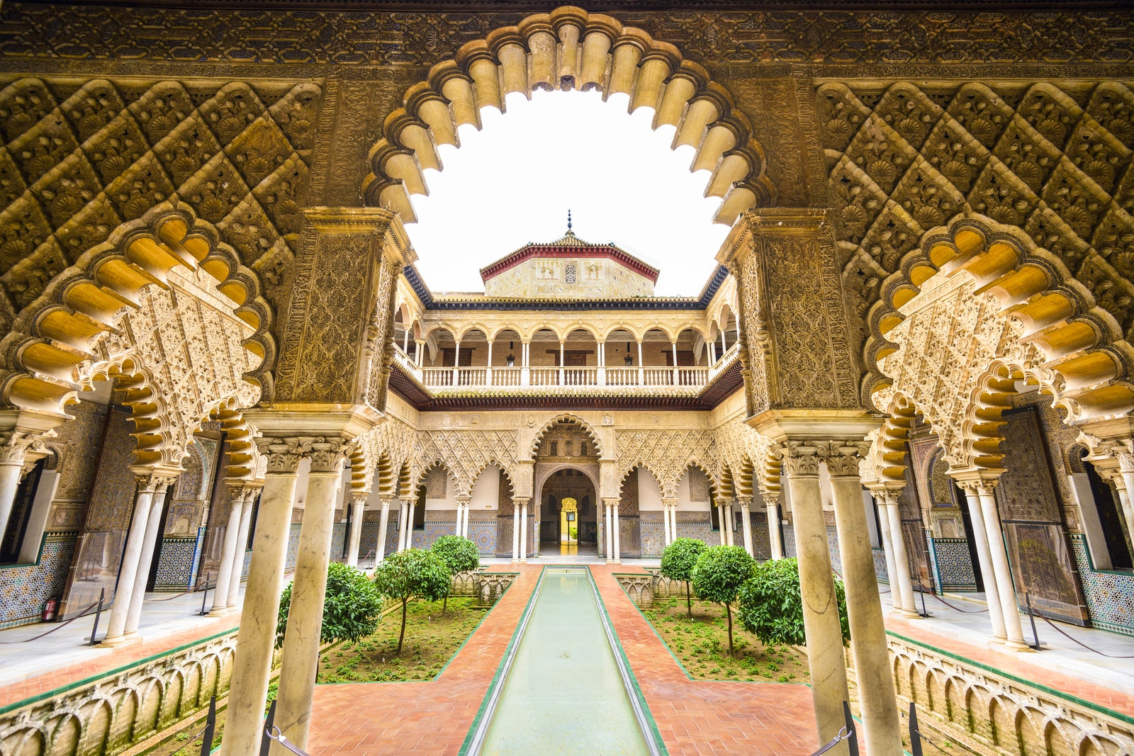 Alcázar of Seville, Spain (Dorne's Sunspear)