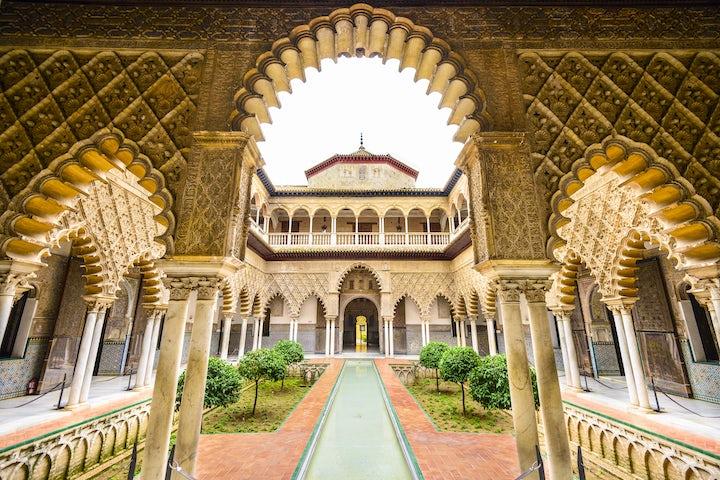 Alcázar of Seville, Spain (Dorne's Sunspear)