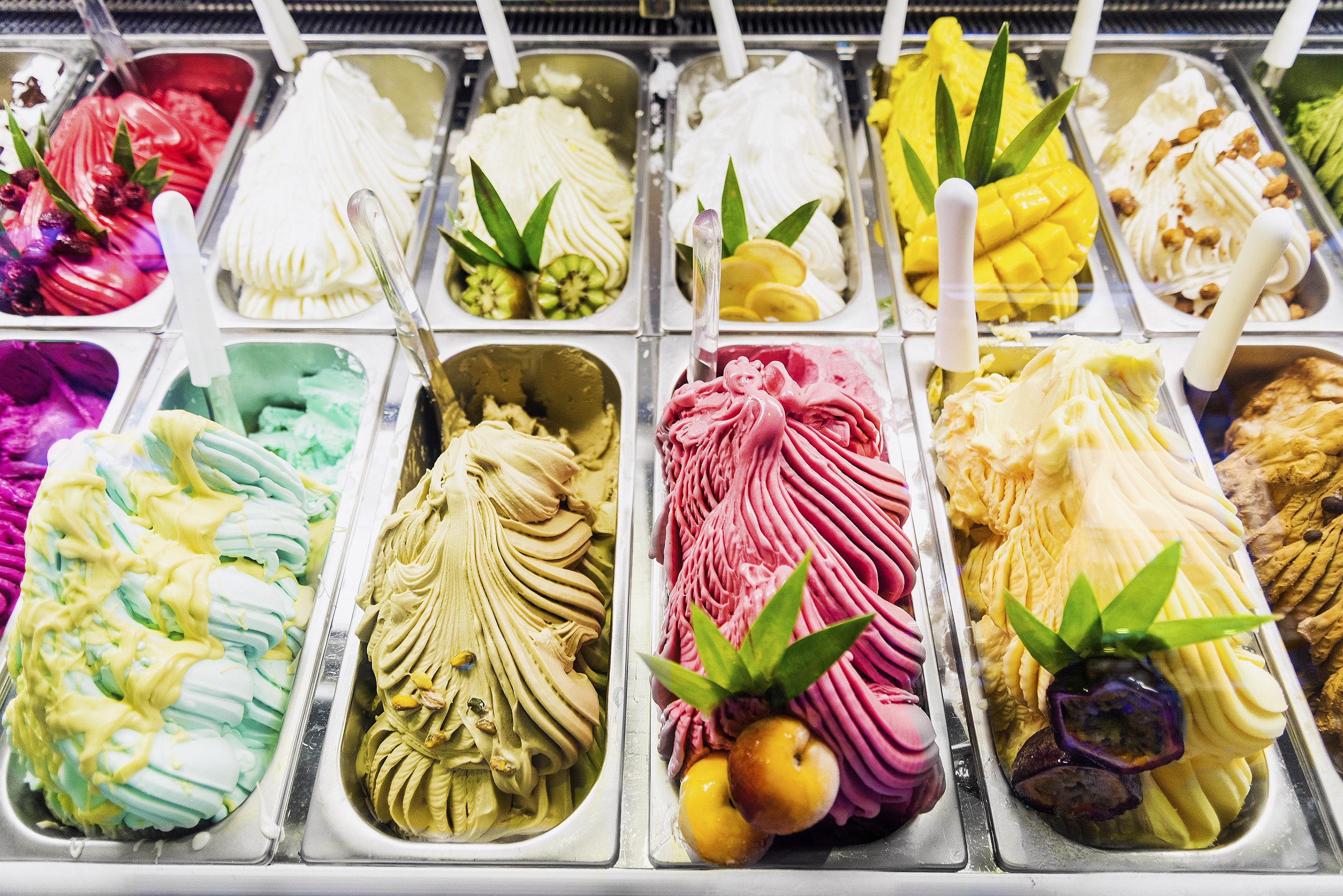 Enjoy a refreshing gelato in Florence