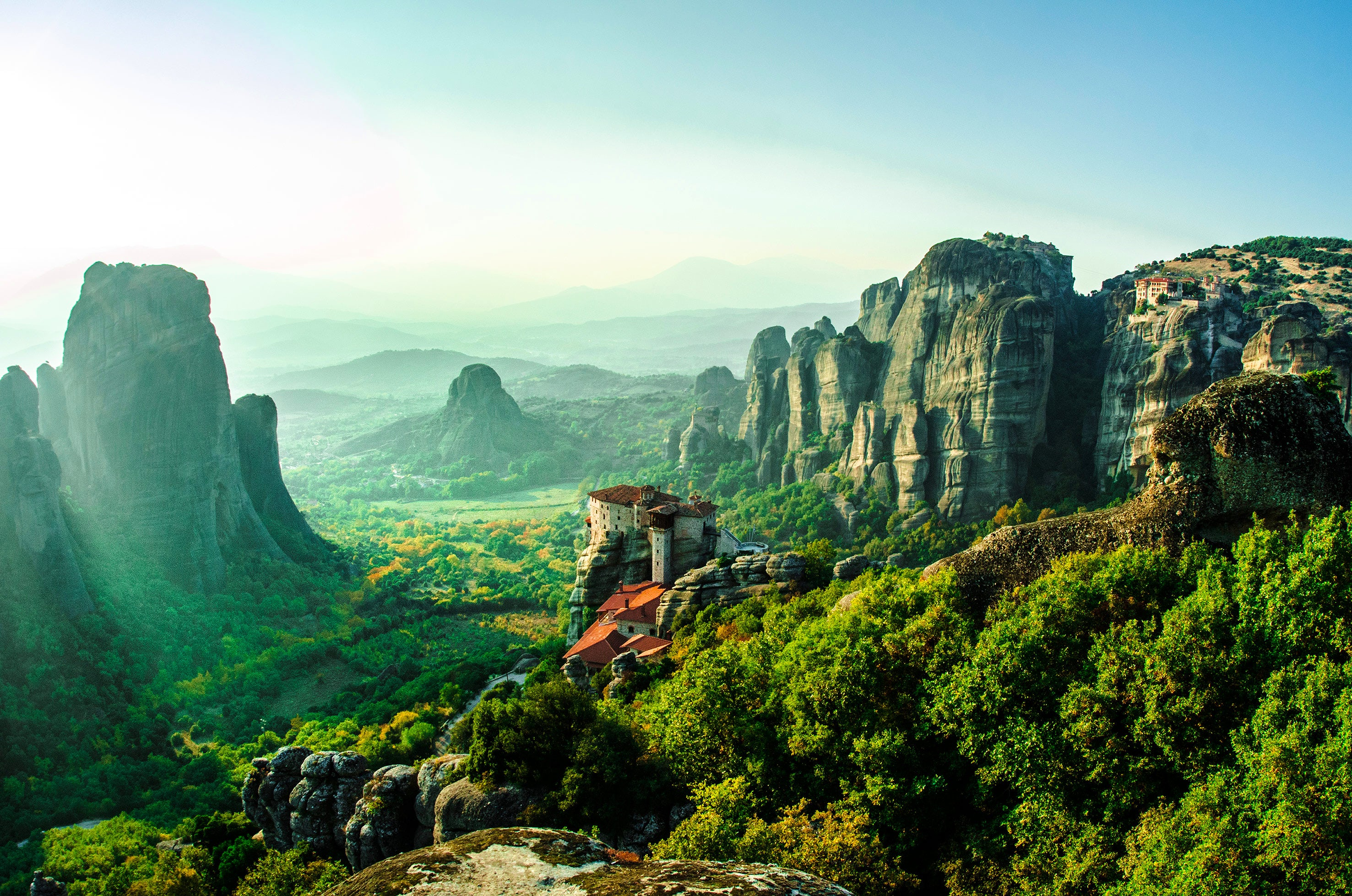 "Meteora, the ""suspended in the air"" monastery!"