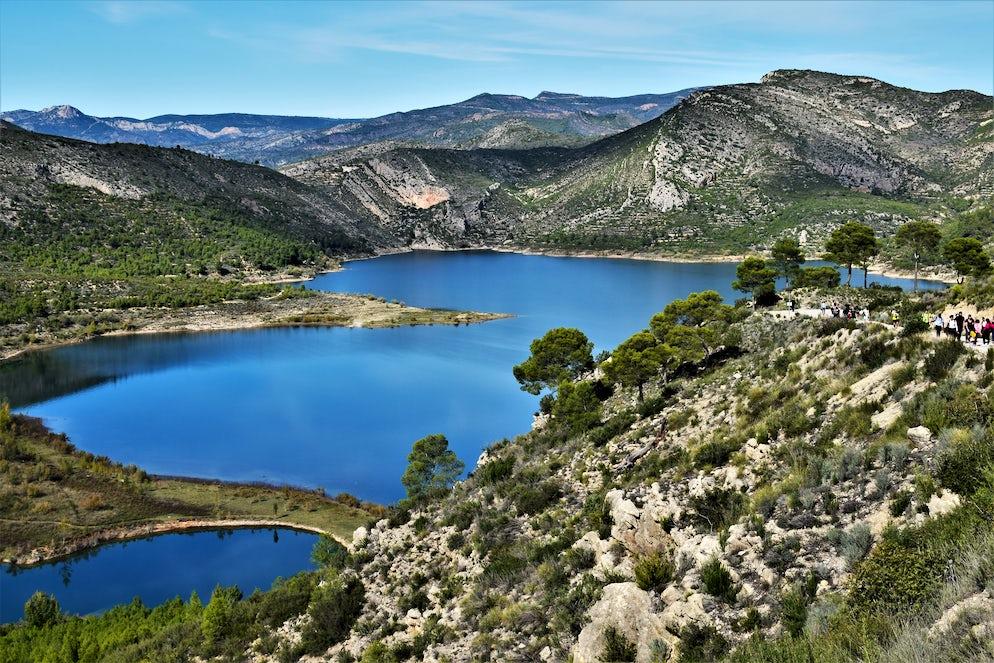 Wide open countryside in Chulilla