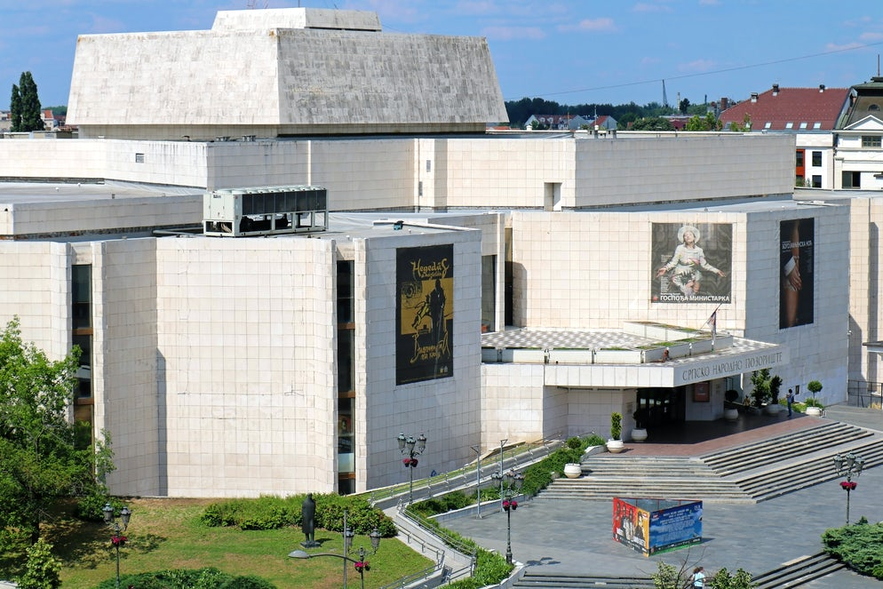 Serbian National Theatre © Credits to ttatty