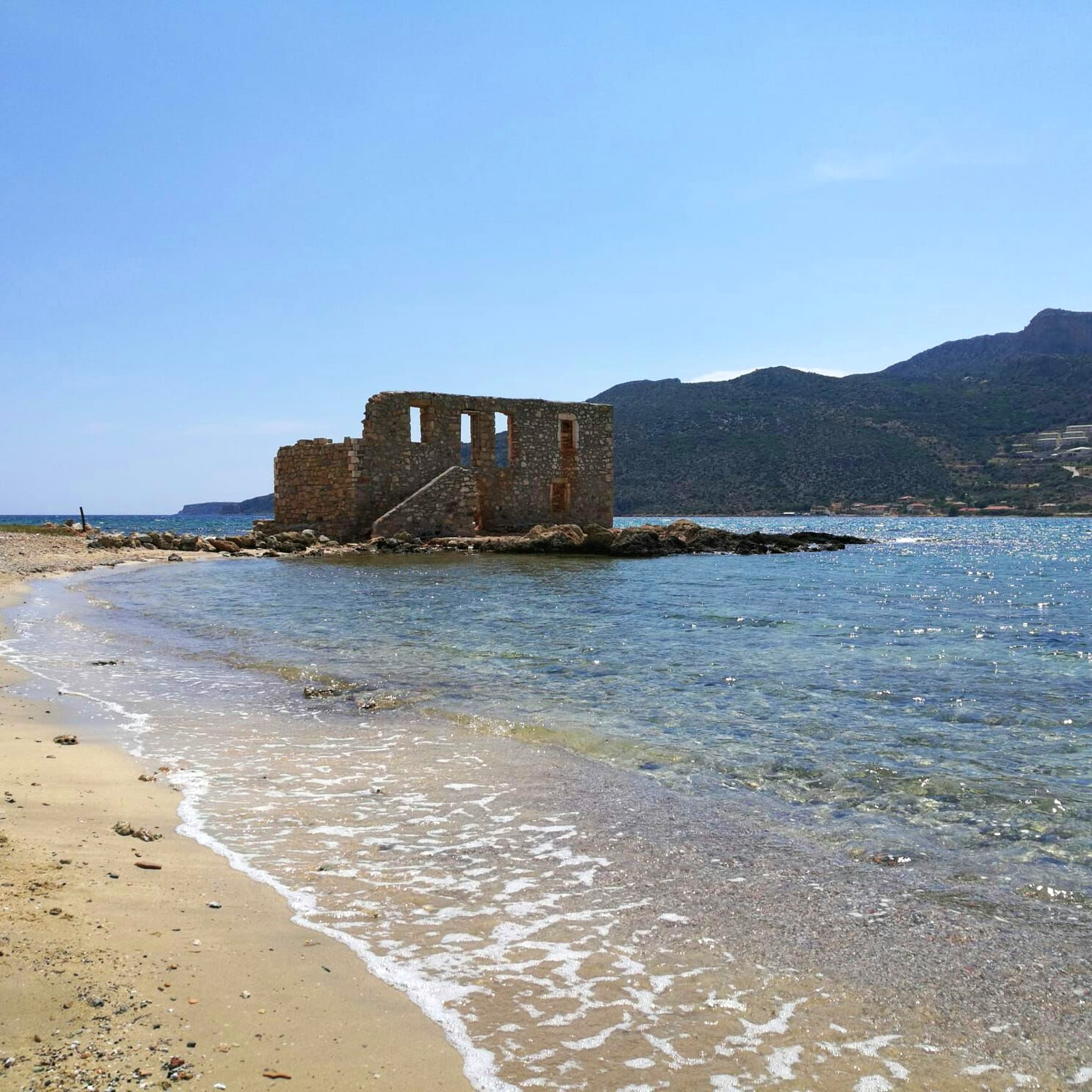 The Gem Of This Area Is The City Of Monemvasia,