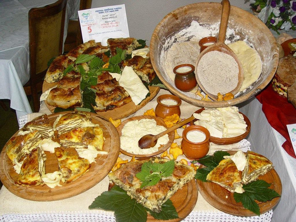 The gastronomy journey around Montenegro