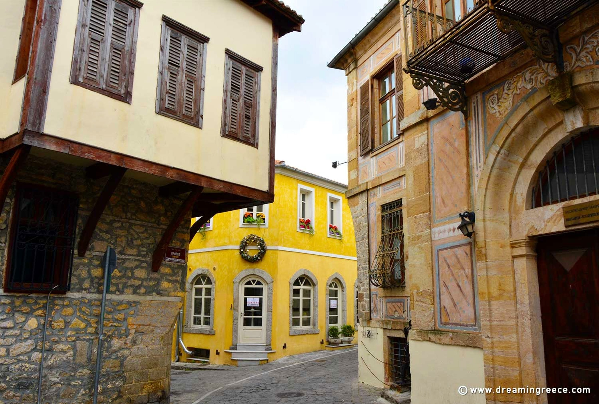 Xanthi The City Of The Thousand Colors Itinari - Amazing house built across a river