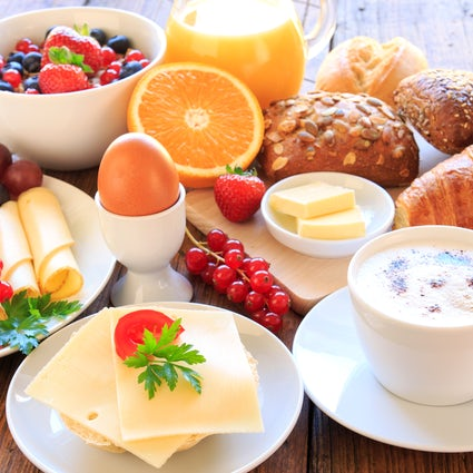 Enjoy your breakfast in Baku