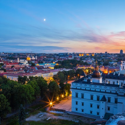 A former 15th-17th centuries diplomatic and cultural center in Vilnius reborn