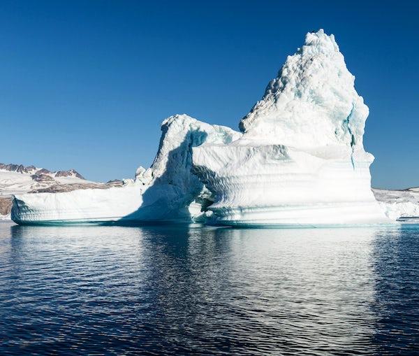 Sailing around the Icebergs in Greenland