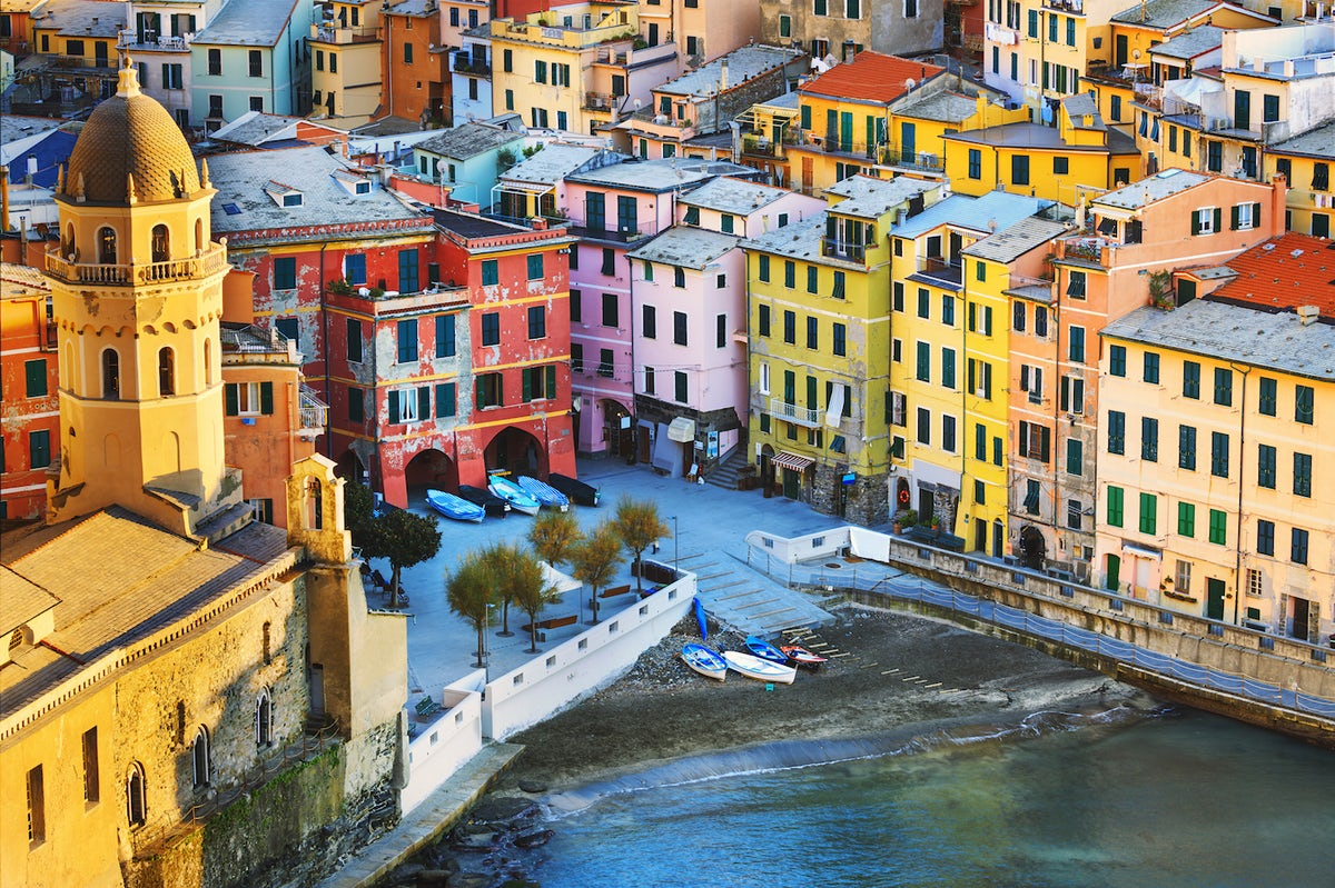 The Most Colorful Places In Italy