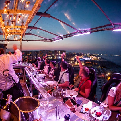 Not just a dinner in Bucharest - Dinner in The Sky