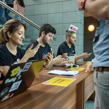 IT get-together: join the BarCamp in Armenia