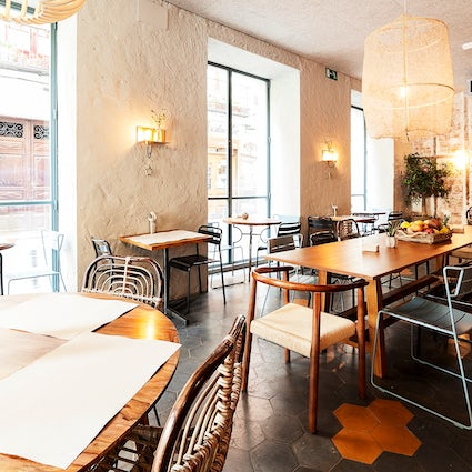 Workplace cafes in Madrid; La china Mandarina