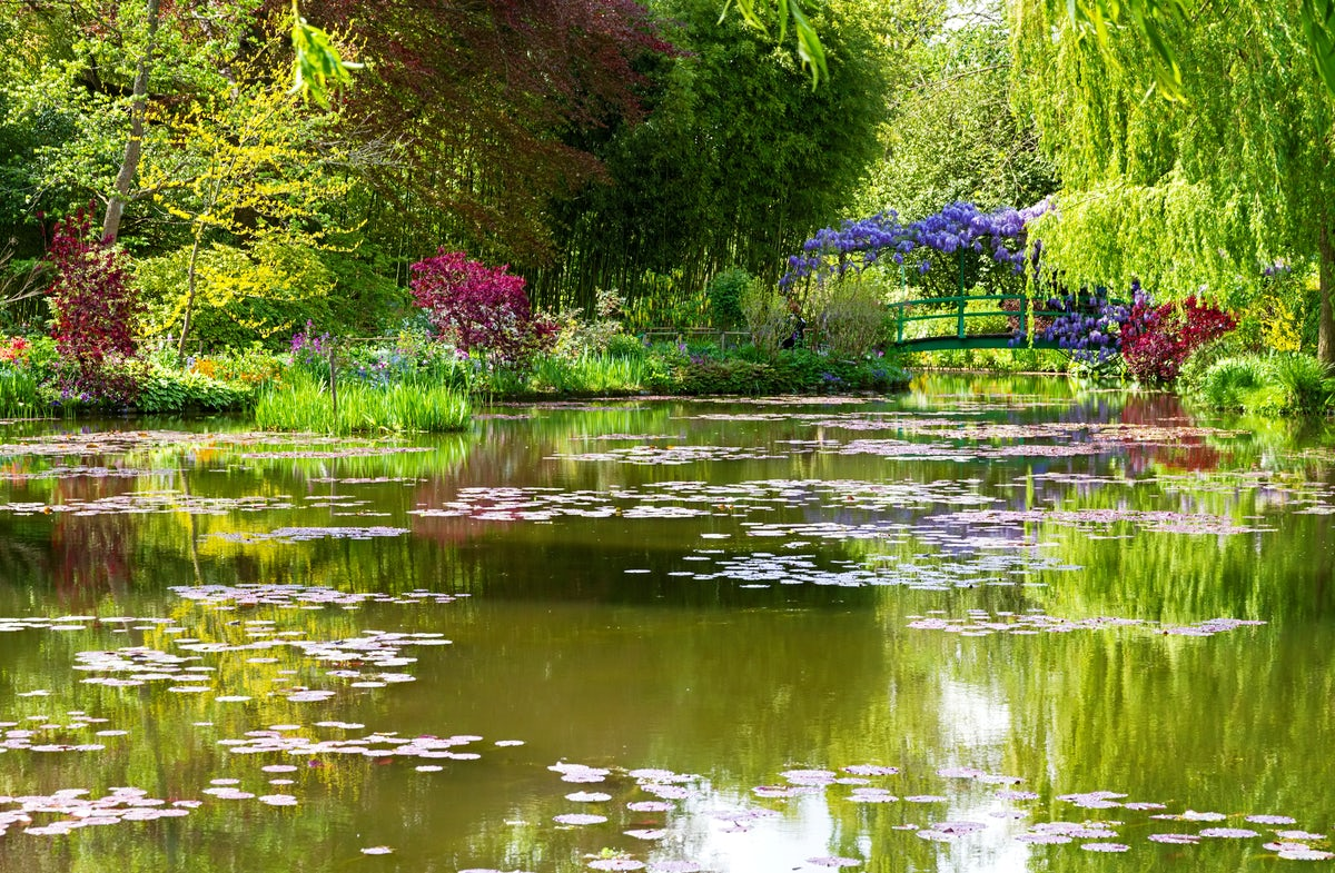 Following In Monet's Footsteps In Giverny