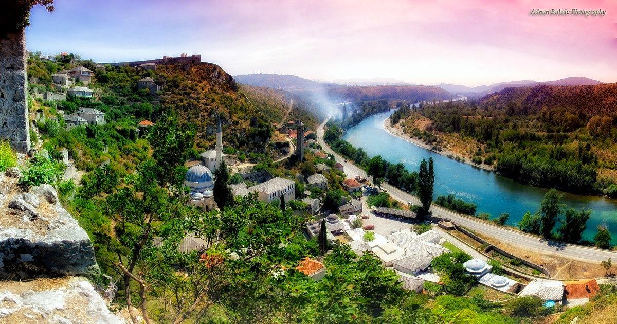Vanishing B&H cultural heritage in picturesque Počitelj