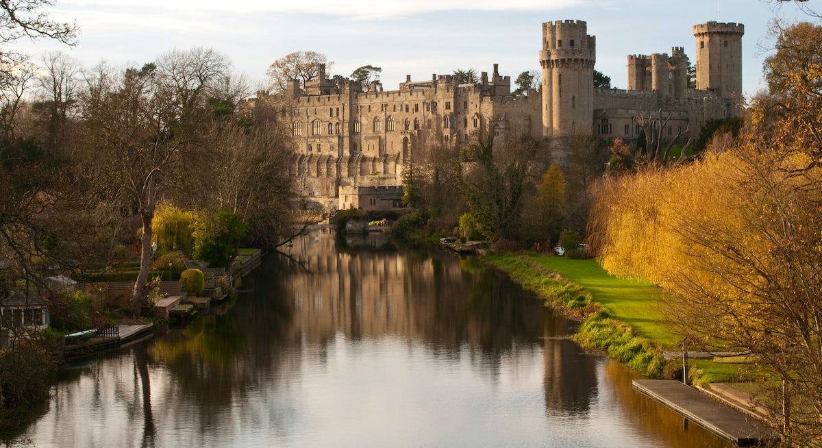 Princesses and Jousting at Warwick Castle