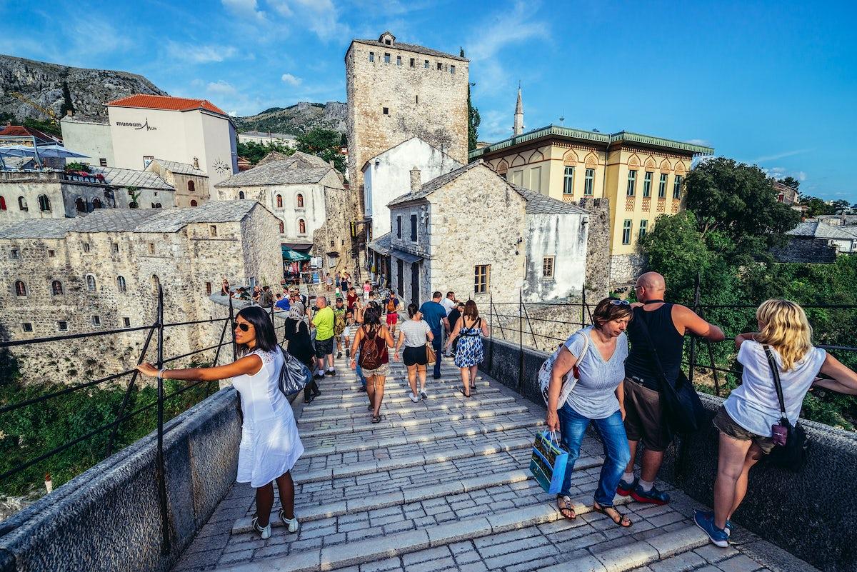 Timeless promenade in Mostar