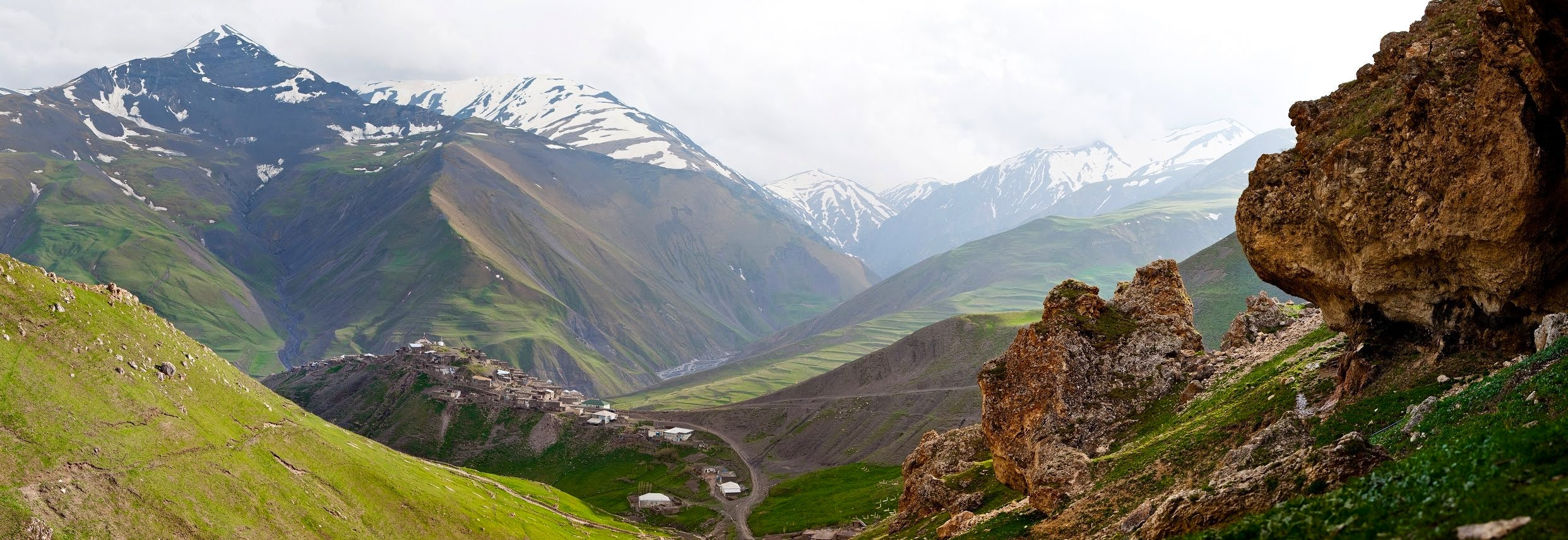 Hiking in Caucasus – The most remote area Khinalig