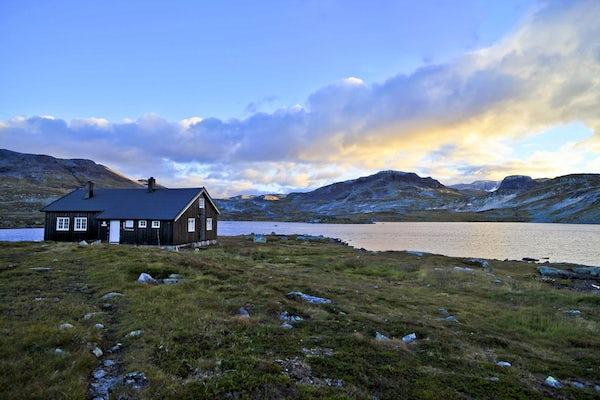 Hardangervidda - where Norwegians go to be tourists