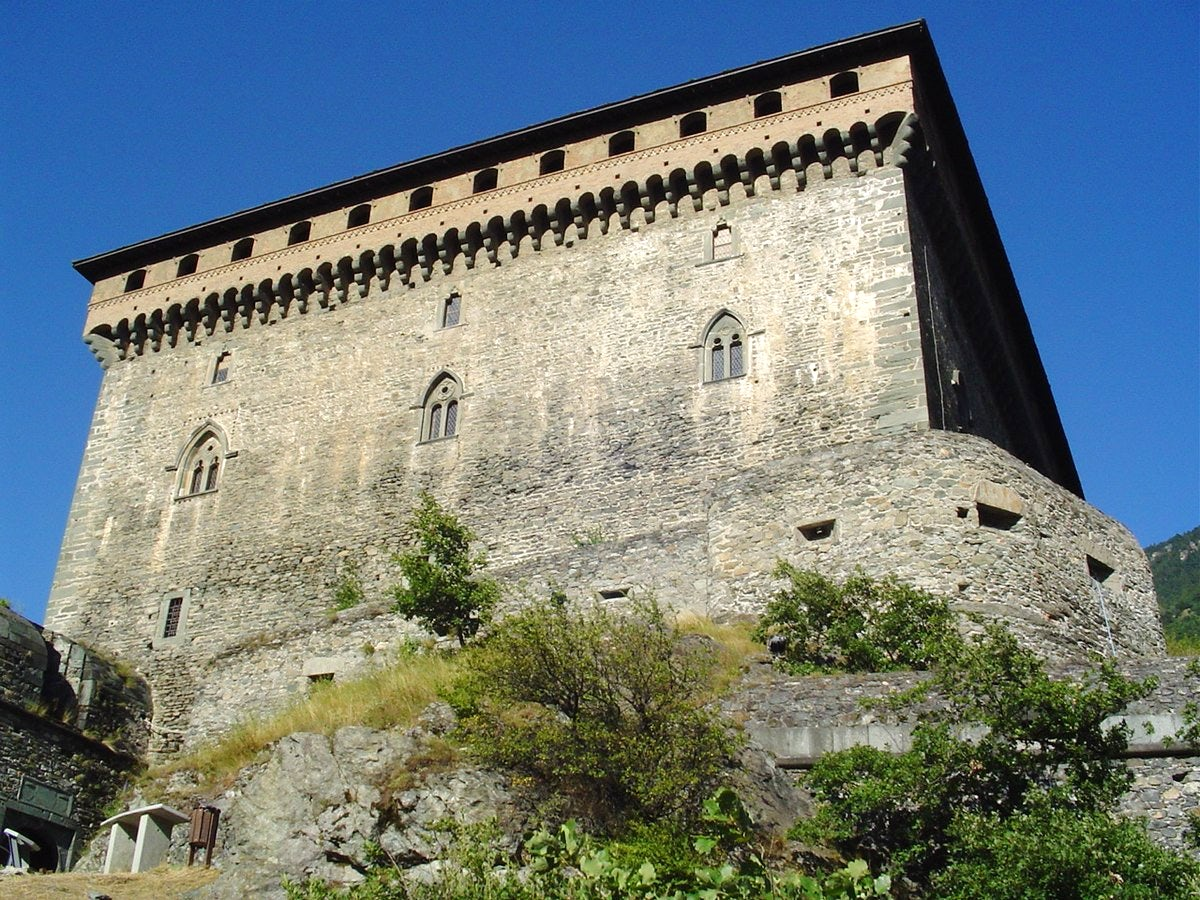 The Valle d'Aosta and its castles