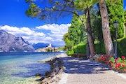 Lake Garda and its surrounding