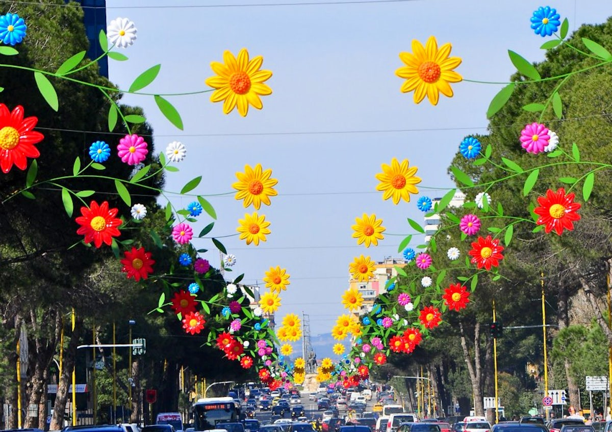 Officially Spring in Albania !