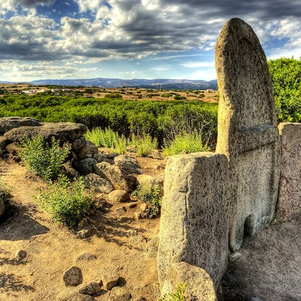 Historic sites and major nuraghe in Sardinia