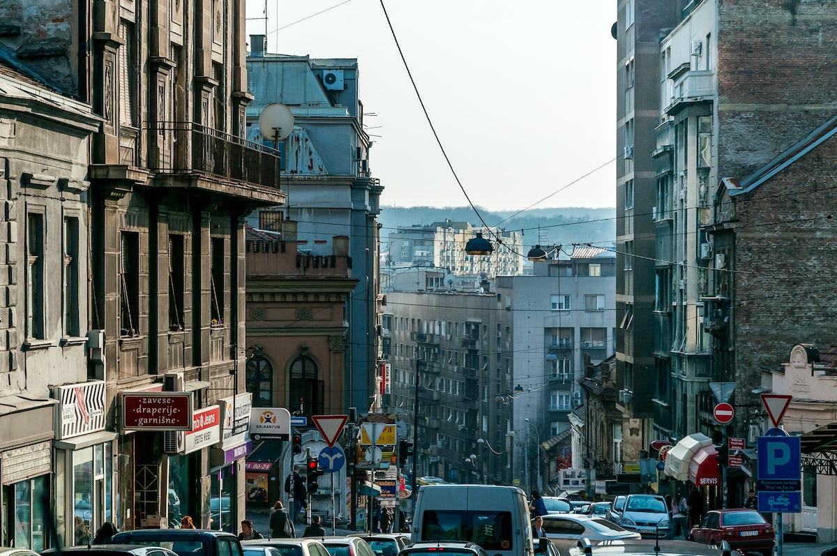 Jovan Bulj was dancing on the streets of Belgrade