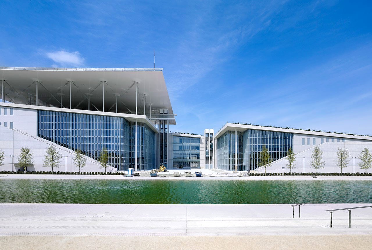 An alternative visit to Athens; the Stavros Niarchos Foundation Cultural Center.