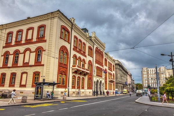 Studentski Trg of Belgrade