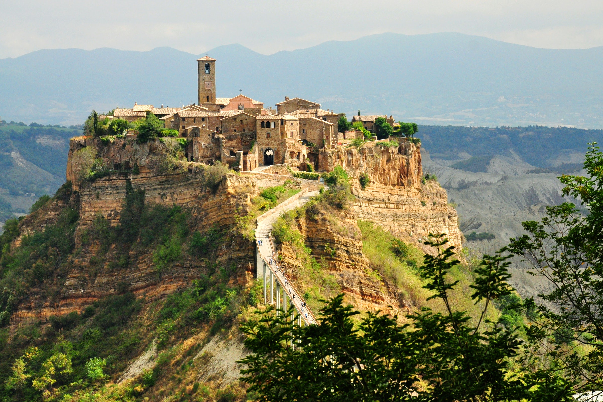 "The ultimate ""WOW"" location, Civita di Bagnoregio 